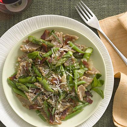 pasta-asparagus