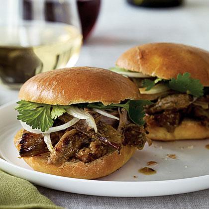Island-style Pulled Pork Sandwiches