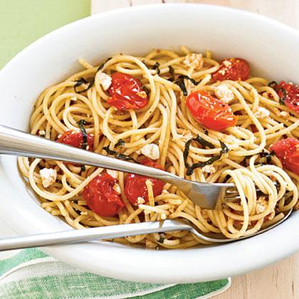 Tomato-Ricotta Spaghetti