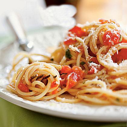 Canned tomato pasta recipe