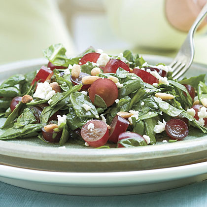 Spinach-Grape Chopped SaladRecipe