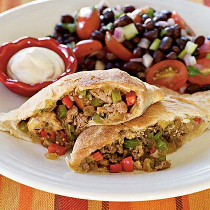 Tex Mex Calzones Recipe Myrecipes