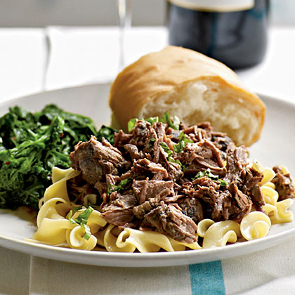 Zinfandel-Braised Leg of Lamb Recipe