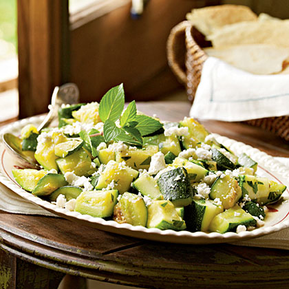 Zucchini with Peppermint (Curcurica kin Menta) Recipe