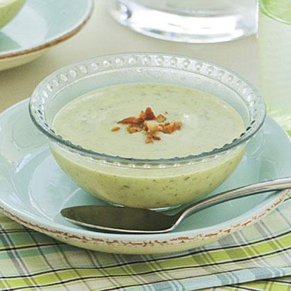 Zucchini-Potato Soup Recipe