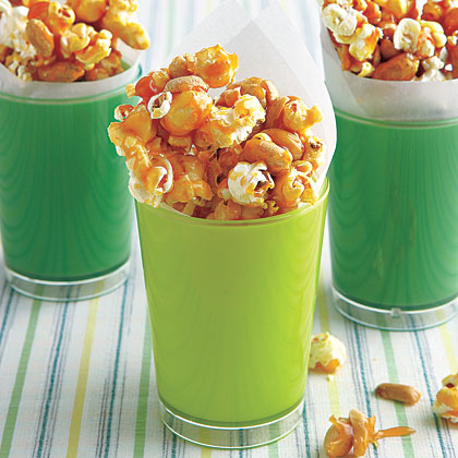Caramel Popcorn and Peanuts