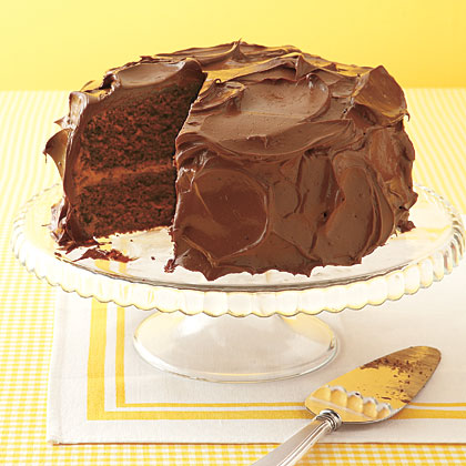 Devil's Food Cake Recipe | MyRecipes.com