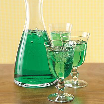 Green Wine Spritzers