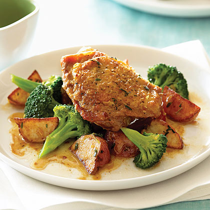 Roast Chicken with Vegetables Recipe