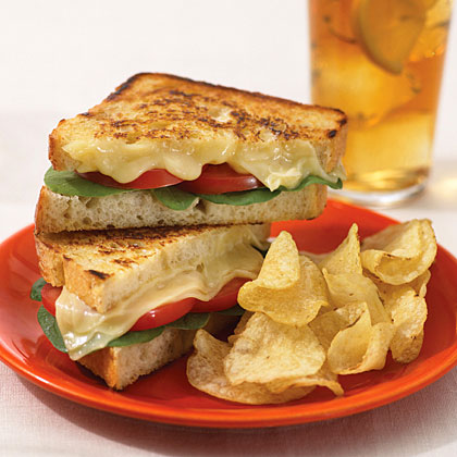 country crock tomato and swiss grilled sandwiches recipe