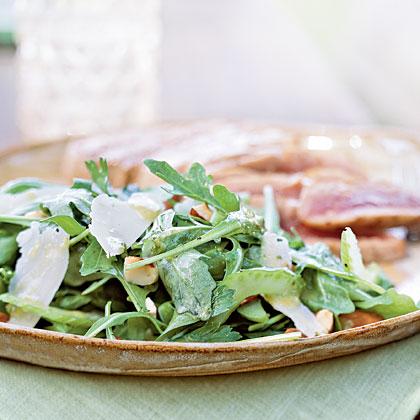 Arugula and Celery Salad with Lemon-Anchovy DressingRecipe