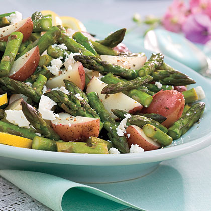 Asparagus-New Potato HashRecipe