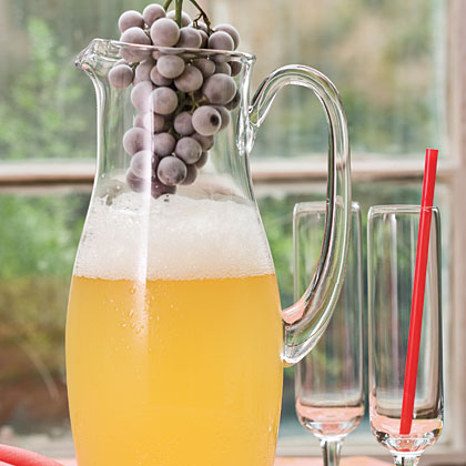 Sparkling Grape Juice-Lemonade