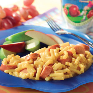 Kraft 4 Cheese and Hot Dog Recipe