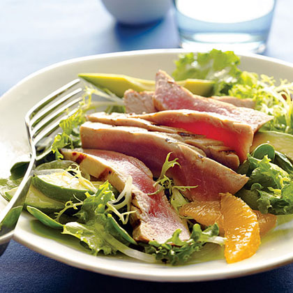 Grilled Tuna Citrus Salad