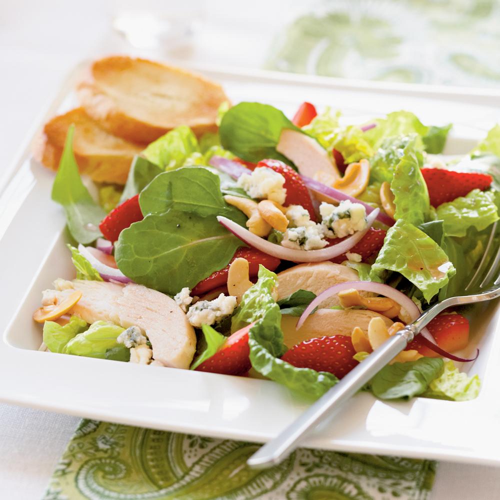 chicken and strawberry salad recipe myrecipes