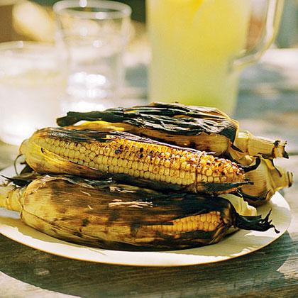 Chili Lime Corn on the Cob Recipe | MyRecipes.com