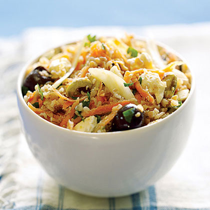 Whole Grain, Feta, and Olive Salad