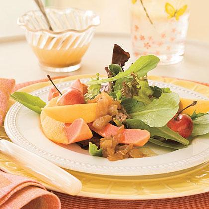 Sweet Onion 'n' Fruit Salad