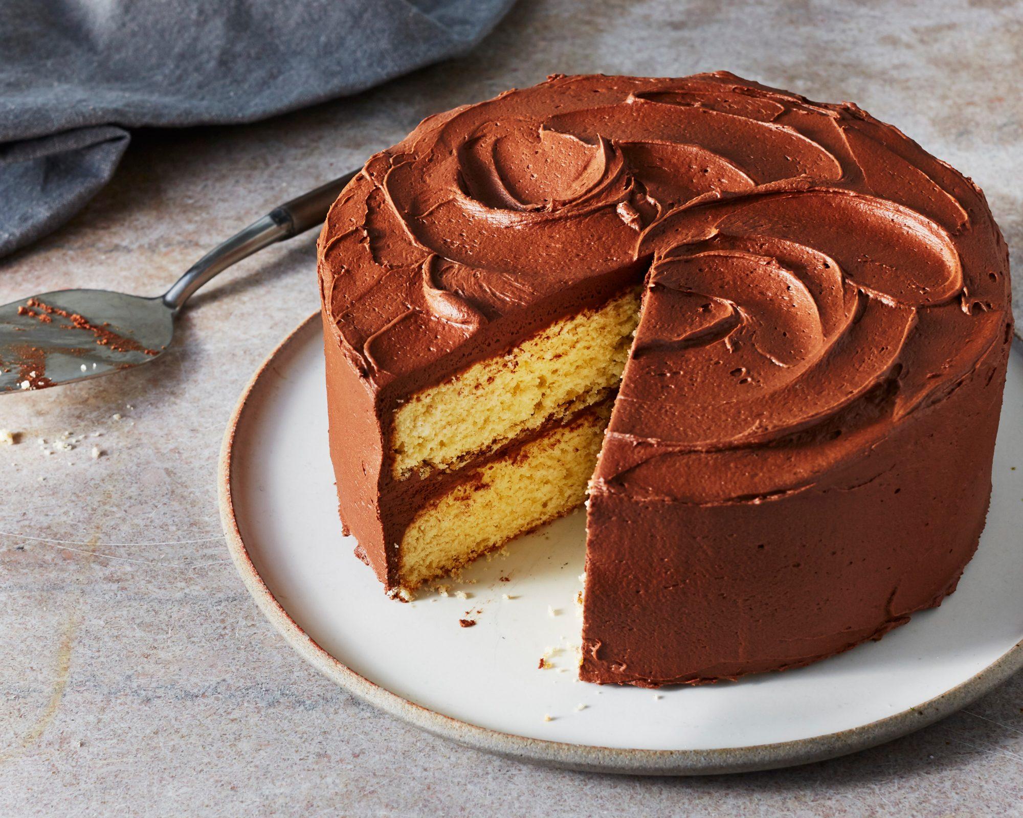 Fudge Butter Cake