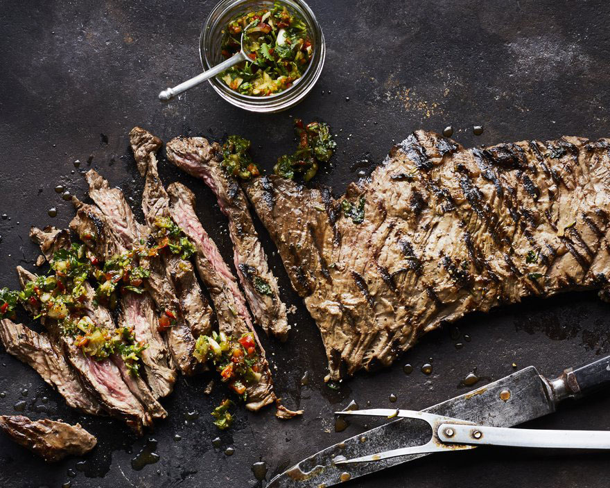 Gaucho Steak with Four-Herb Chimichurri