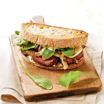 Steak and Fennel Sandwiches Recipe