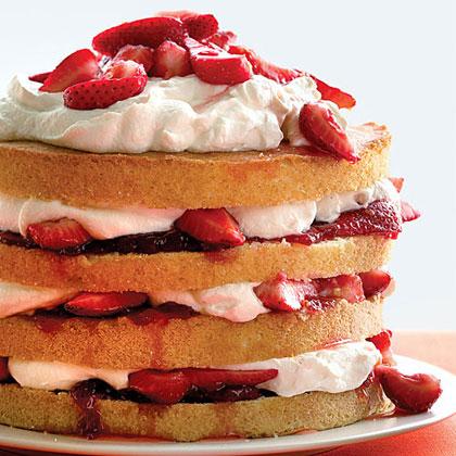 Strawberry TallcakeRecipe