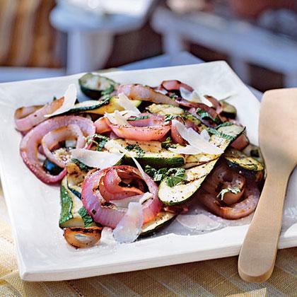 Italian Grilled Zucchini and Red OnionRecipe