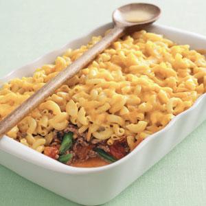Kraft Cheesy Topped Mac Casserole Recipe