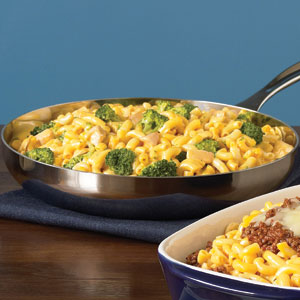 Kraft Cheesy Chicken and Broccoli Macaroni recipe