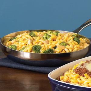 Kraft Cheesy Chicken and Broccoli Macaroni recipe