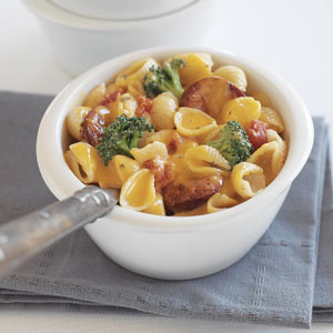 Kraft Hearty Sausage Skillet Recipe