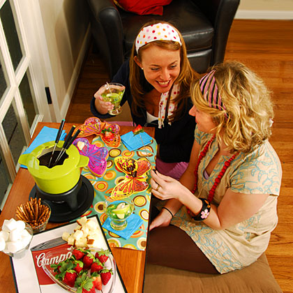Toast the time gone by with a party that's sure to live in the memory books for years to come. Theme your party around the guest of honor's birth decade (think slap bracelets and headbands for the wild children of the 80s) or simply pick your favorite era of clothing, music, or cocktails and get planning. Check out The Extras for a rocking 60's playlist of tunes designed to get the party going.