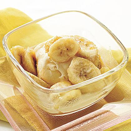 Rum-Baked Bananas