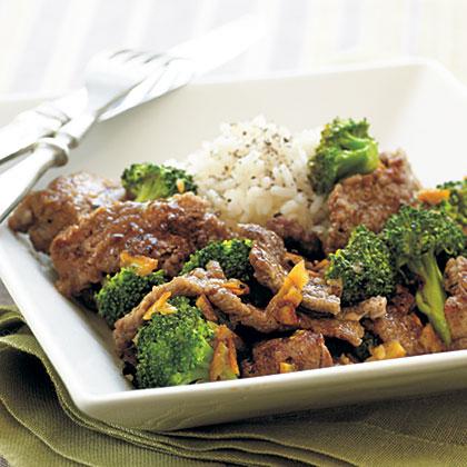 Orange Beef and BroccoliRecipe