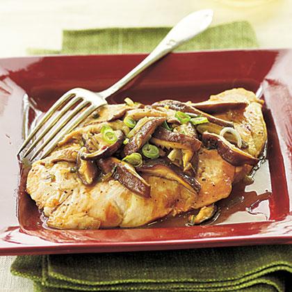 Chicken and Shiitake MarsalaRecipe