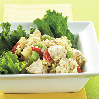 Curried Chicken-Rice SaladRecipe