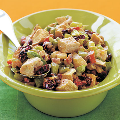Chicken Salad with Roasted Peppers