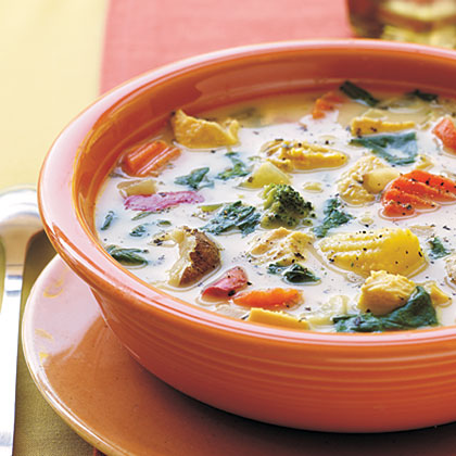 Chicken-Vegetable Soup Recipe