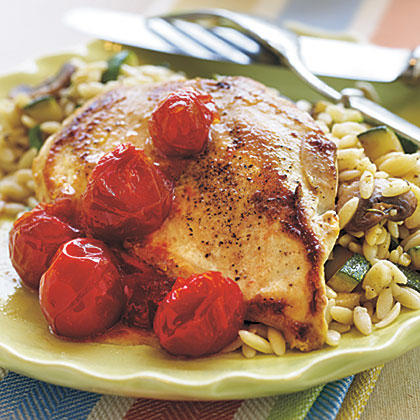 Chicken with Dried Tomato SauceRecipe