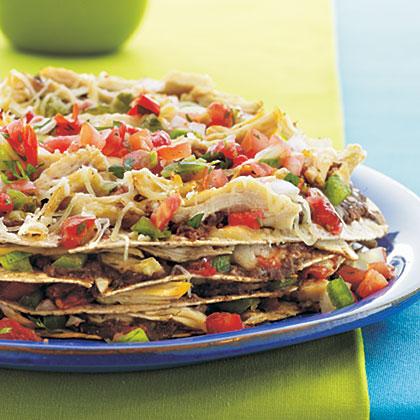 Chicken-Tortilla Pie Recipe | MyRecipes