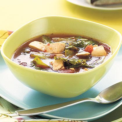Chicken-Escarole Soup