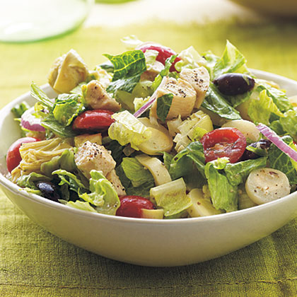 Greek Salad Bowl Recipe