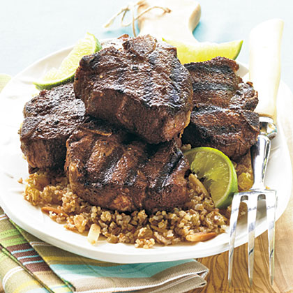 Sweet-Spiced Grilled Lamb ChopsRecipe
