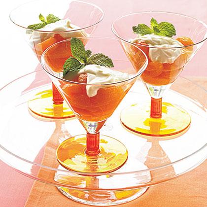 Mandarin Oranges with Grand Marnier and Mascarpone Recipe