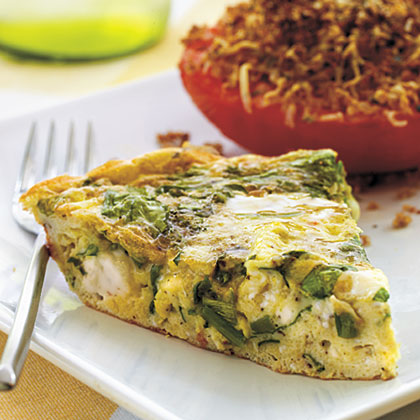 Mediterranean-Style Frittata