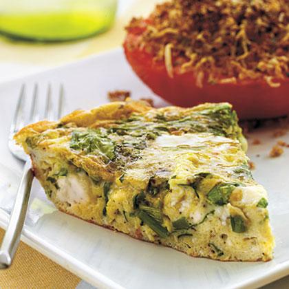 Mediterranean Style Frittata Recipe Myrecipes