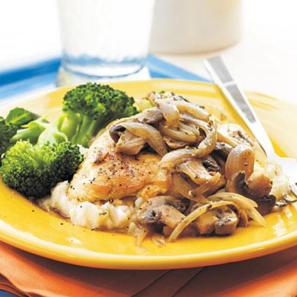 Mushroom-Herb ChickenRecipe