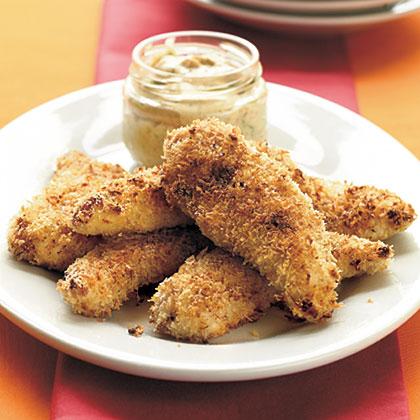 Fried Panko Chicken TendersRecipe