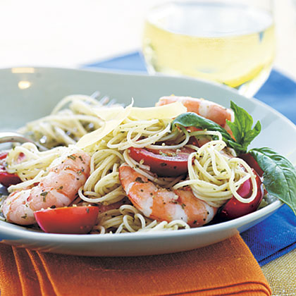 Pesto Shrimp PastaRecipe